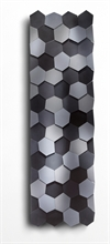 Designradiator HoneyCubes Grey