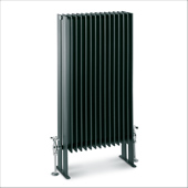 Design radiator på gulv